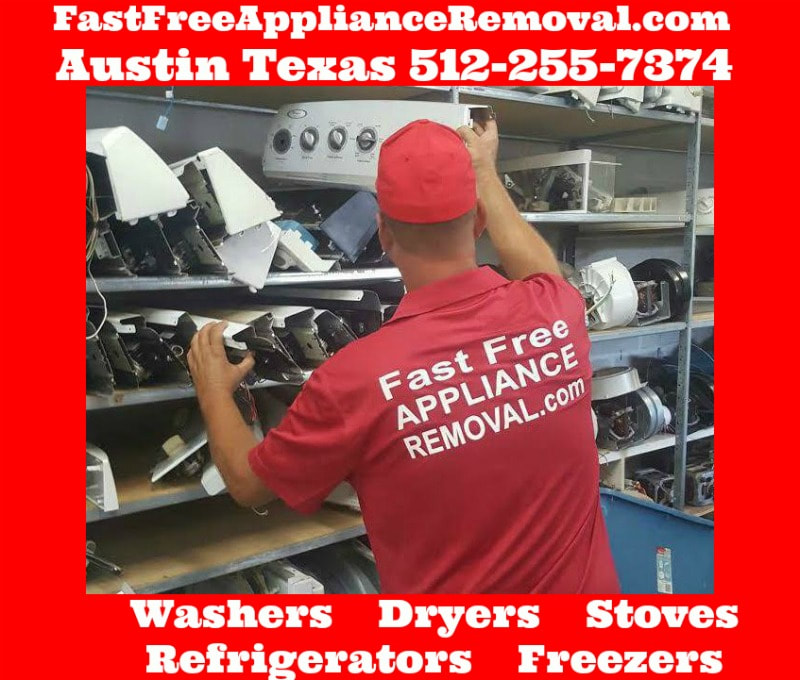 free appliance removal Austin Teaxas