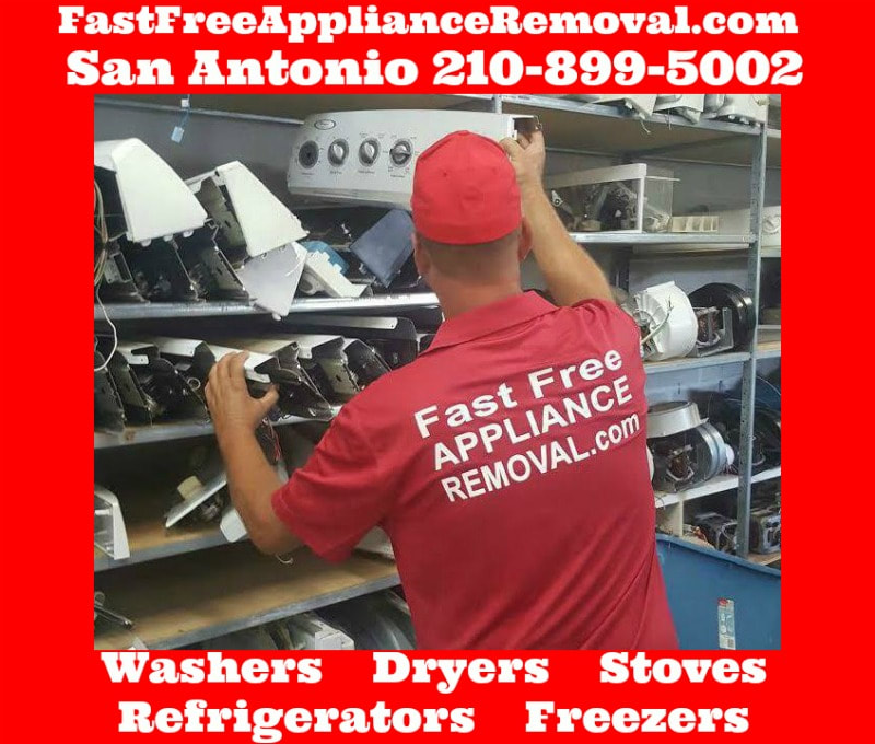 recycle appliances San Antonio Texas