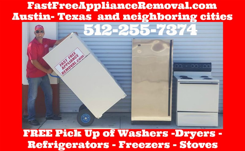 free appliance pick up Travis County Texas