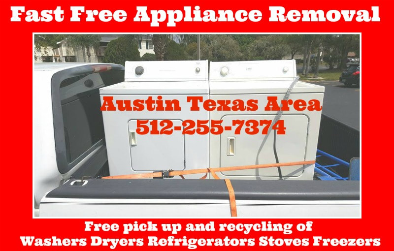 free washer dryer pick up Austin Texas