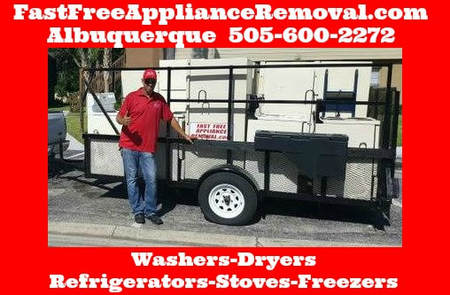 free appliance haul away Albuquerque