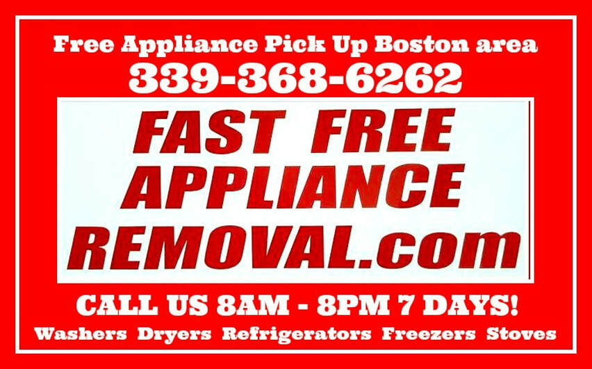 free appliance pick up Boston Massachusetts