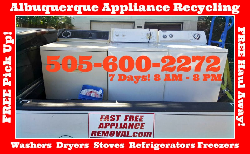washer dryer pick up Albuequerque New Mexico