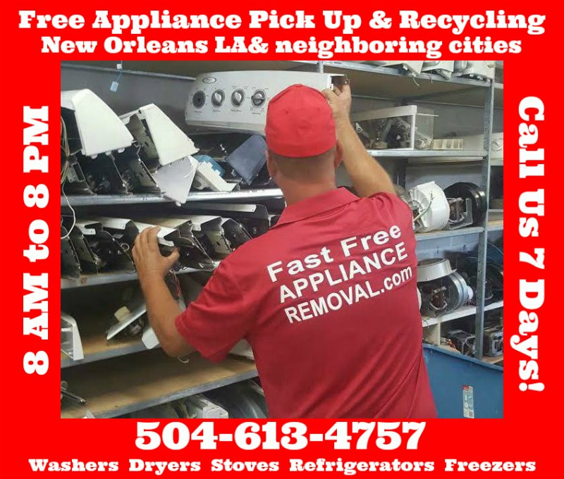 recycle appliances New Orleans Louisiana