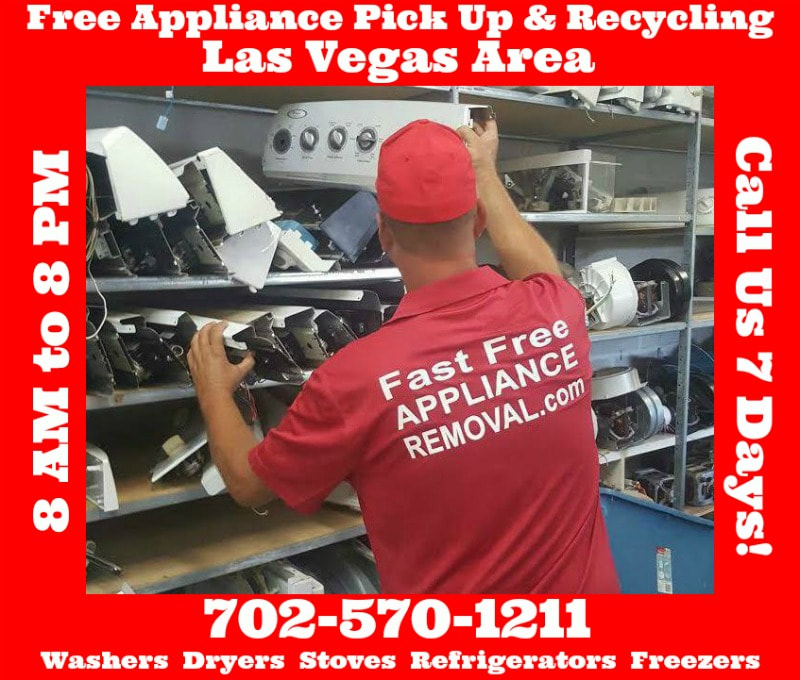 recycle appliances Las Vegas Nevada