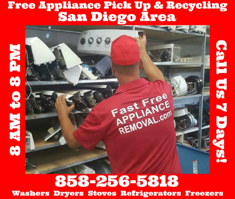 recycle appliances in San Diego California