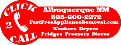 free appliance pick up Albuquerque New Mexico