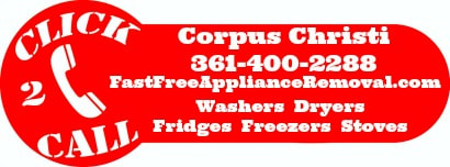 free appliance removal Corpus Christi Texas