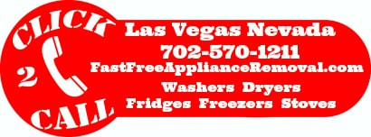 free appliance pick up Las Vegas Nevada