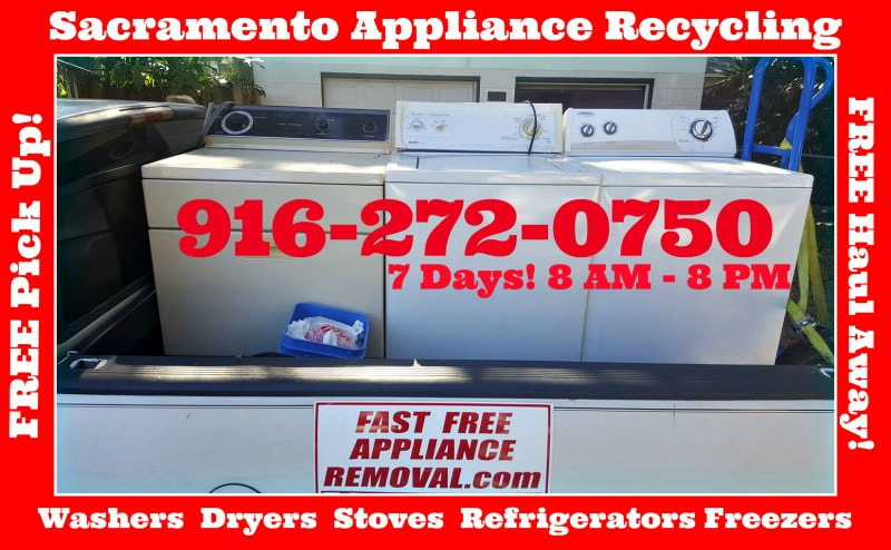 free-washer-dryer-removal-recycling-pick-up_Sacramento_California