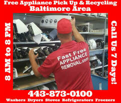 recycle appliances Baltimore Maryland