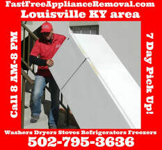 picks up refrigerators Louisville Kentucky