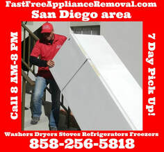 free refrigerator pick up San Diego California